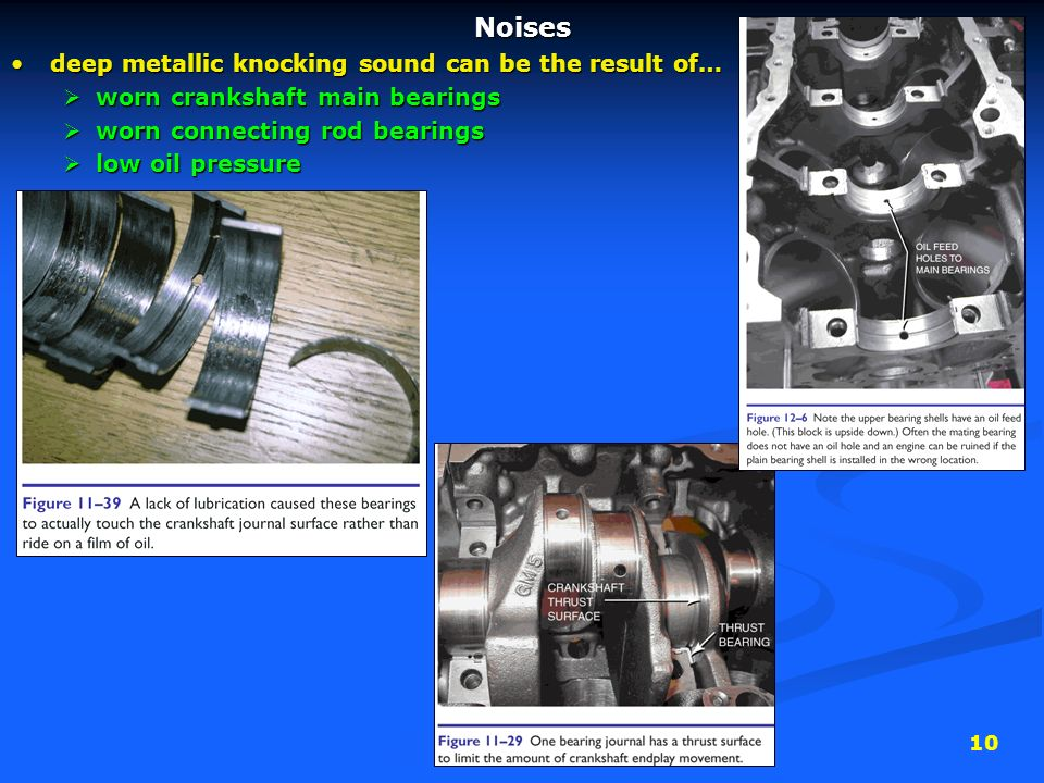 1 Camshaft Locations 1) Cam-in-block: dated technology (but