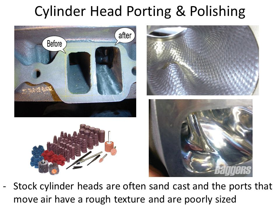 Engine: Top End Construction  Valve Covers - contains oil