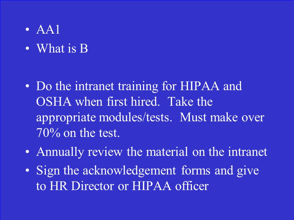 Why We Have To Do This Again Dhc Hipaa Osha Retraining Ppt Download