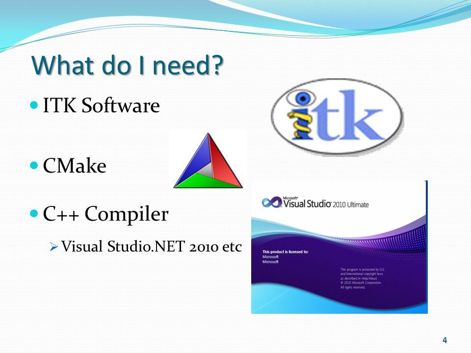 How to Install ITK ? (Insight Segmentation and Registration