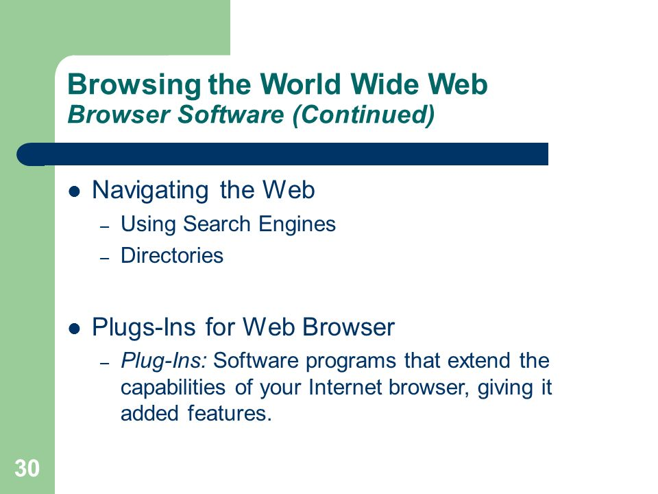 It In Business Essentials Of The Internet And World Wide Web Ppt Download