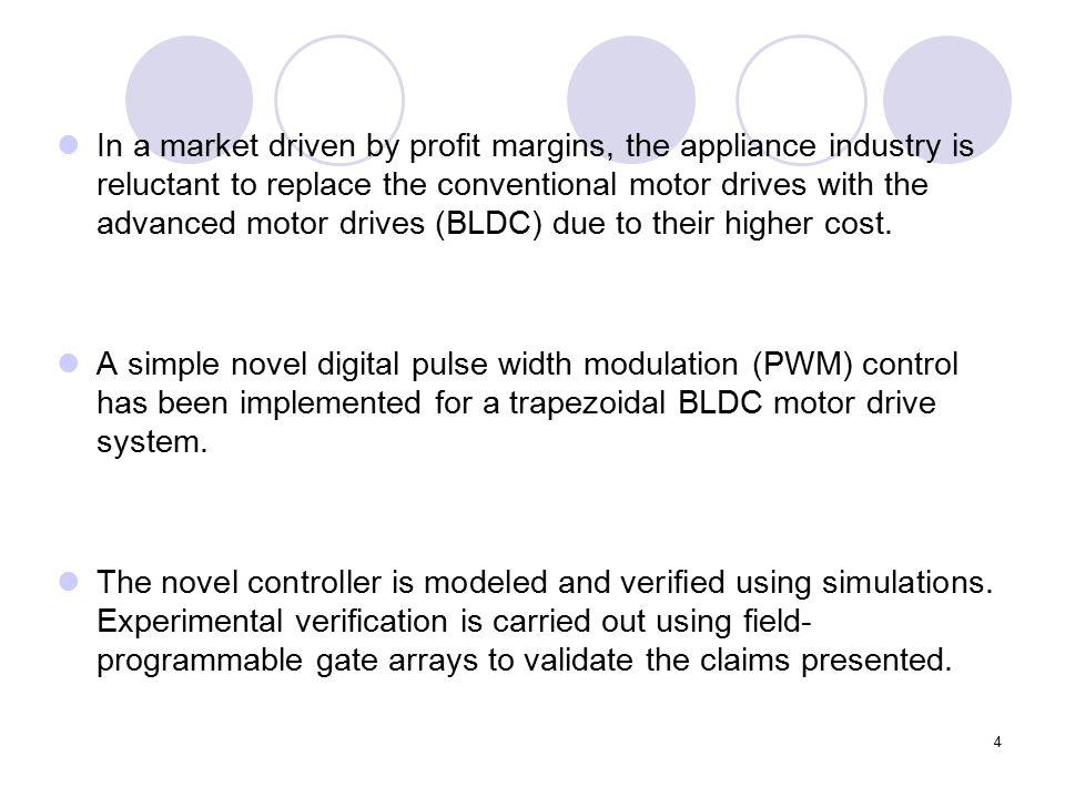 1 An FPGA-Based Novel Digital PWM Control Scheme for BLDC Motor