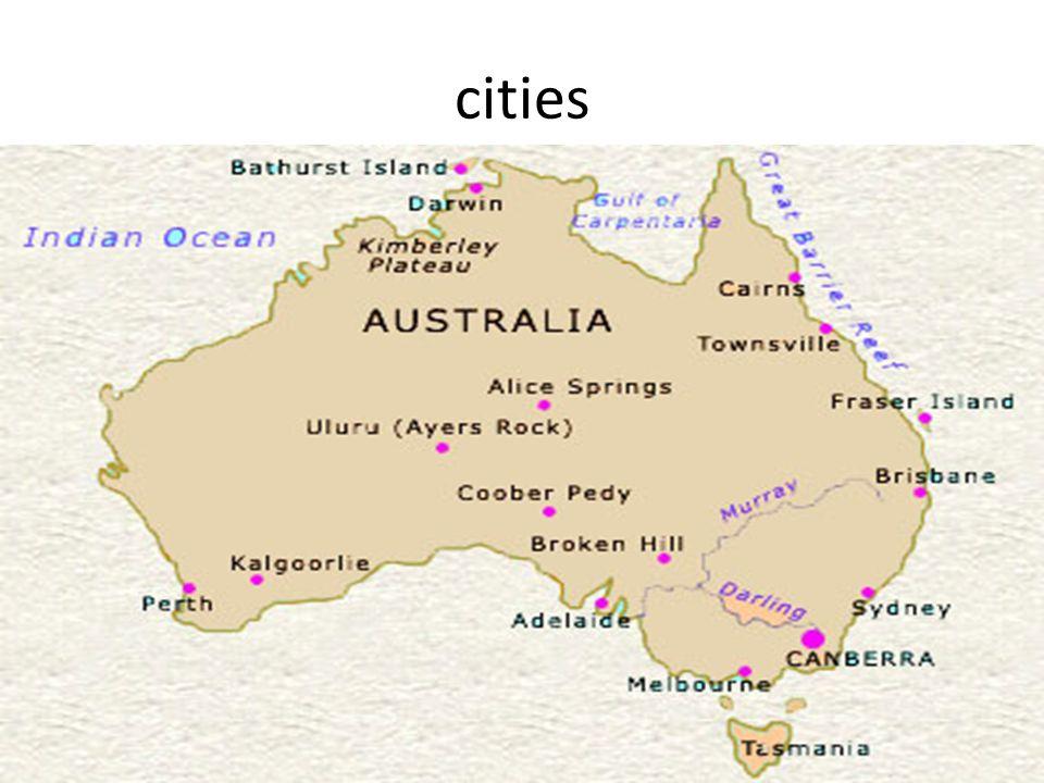 Australias largest cities