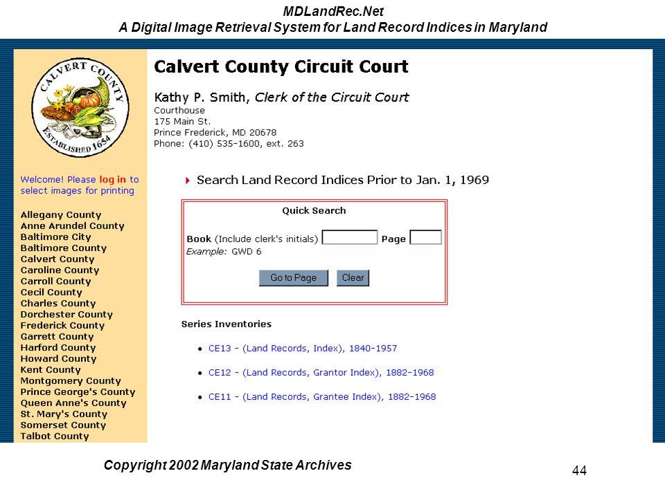 MDLandRec Net A Digital Image Retrieval System for Land