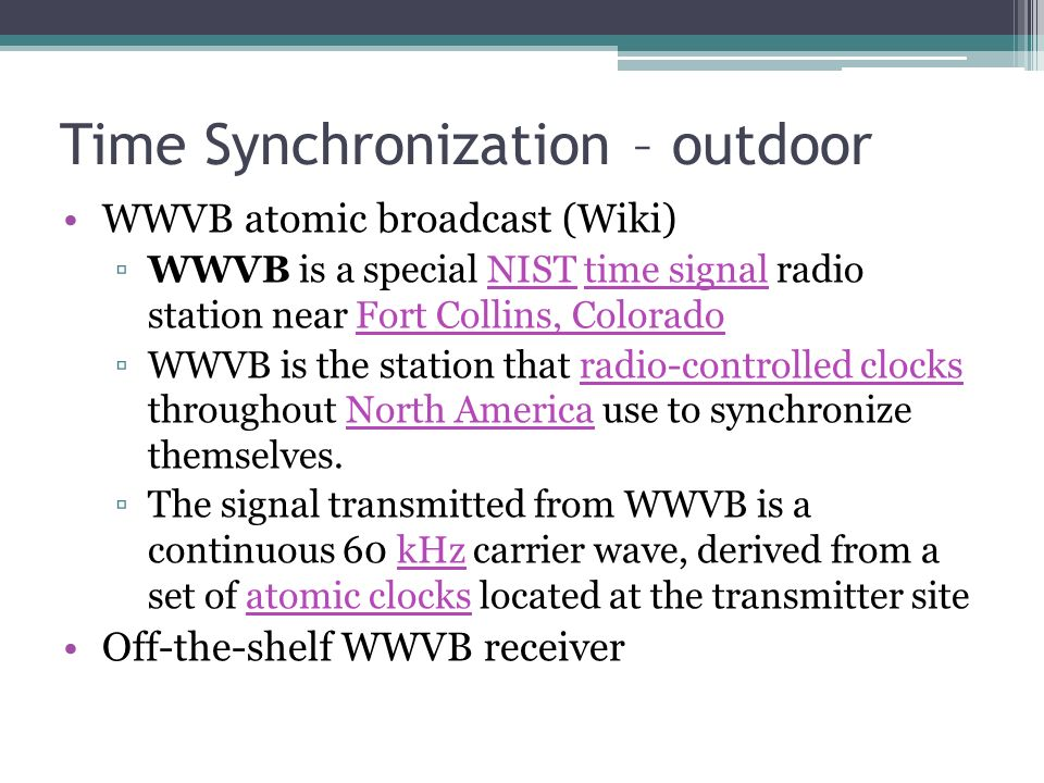 Wwvb Transmitter
