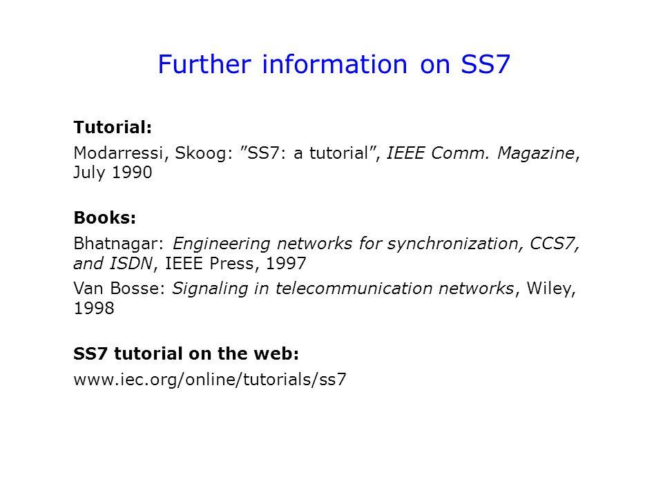 Ss7 Tutorial