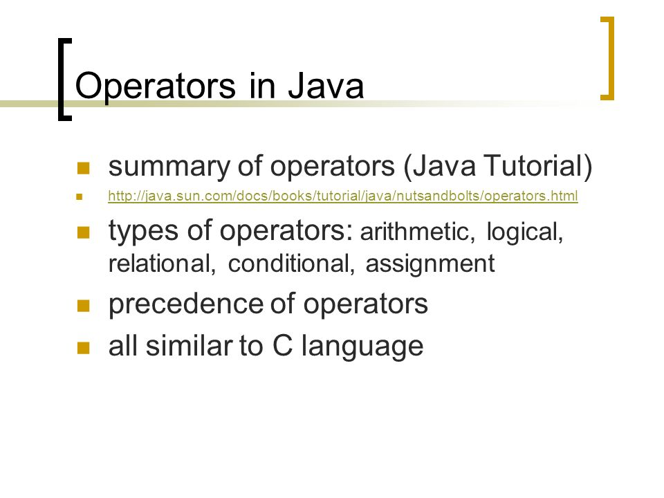 BPJ444: Business Programming using Java Java basics Tim McKenna