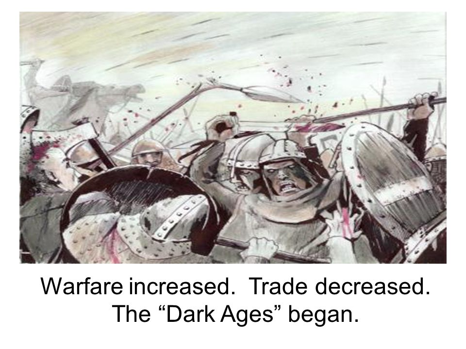 The fall of Rome brought many important changes to Western Europe.