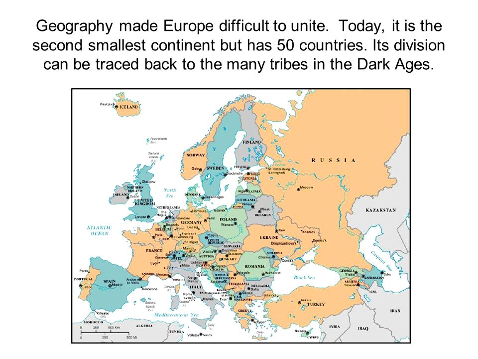 Europe's Geography