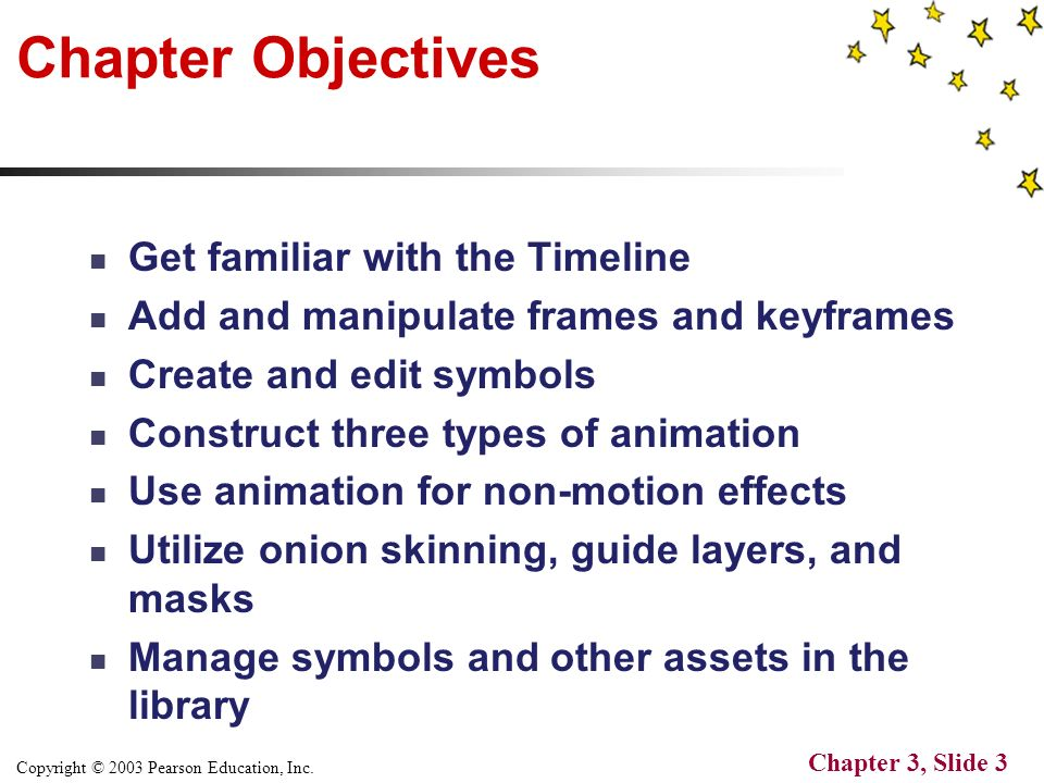 Copyright © 2003 Pearson Education, Inc. Chapter 3, Slide 1 by ...