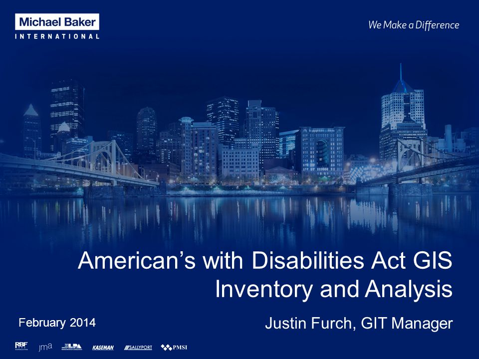 American's with Disabilities Act GIS Inventory and Analysis