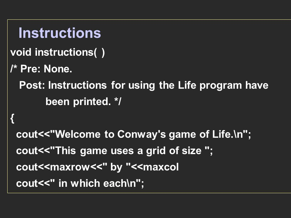 Chapter 1 Programming Principles 1 Introduction Problems With