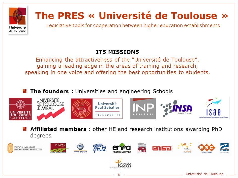 1 Université de Toulouse Research and Higher Education