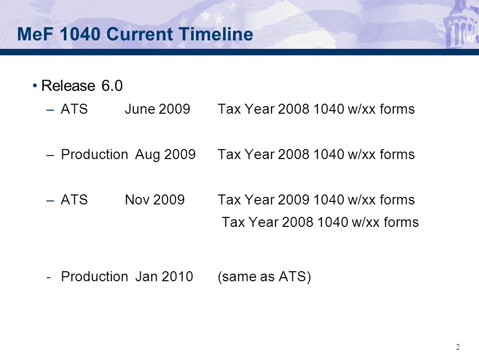 June 4 2007 Mef Form 1040 Status For Tigers Meeting Internal