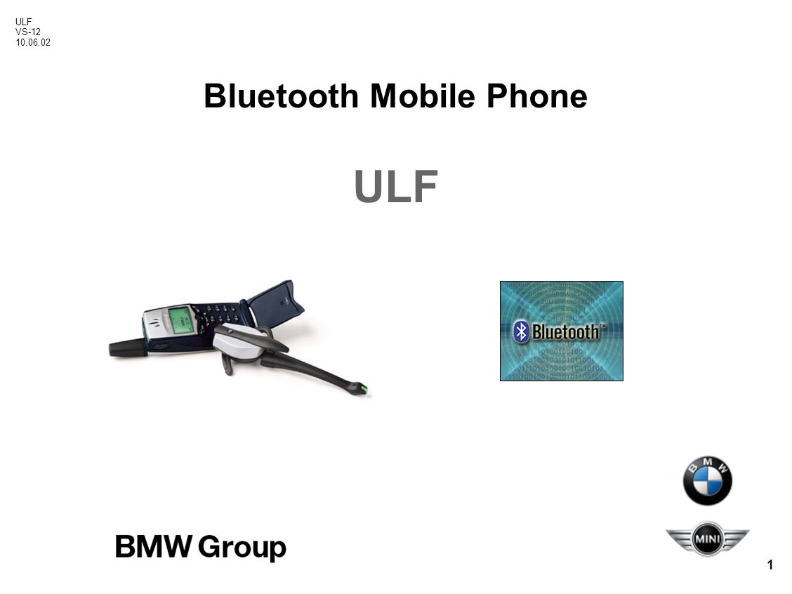 Ulf Vs Bluetooth Mobile Phone Universal Charging And Bmw Wiring Diagram 1 12 100602