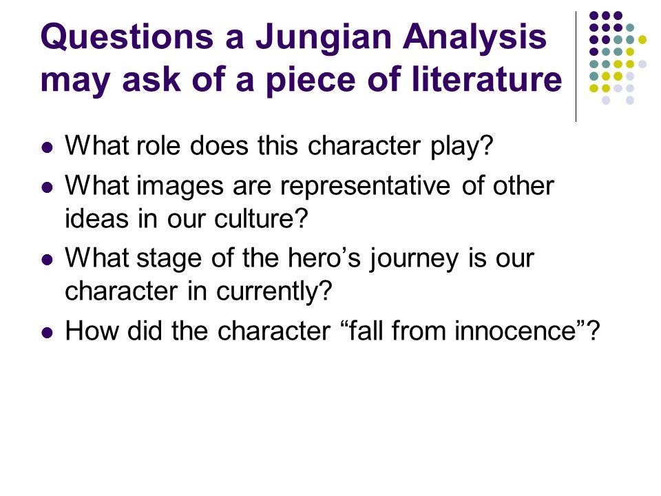 jungian literary analysis