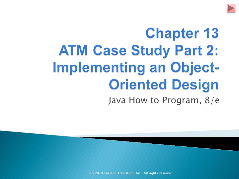 C) 2010 Pearson Education, Inc  All rights reserved  Java