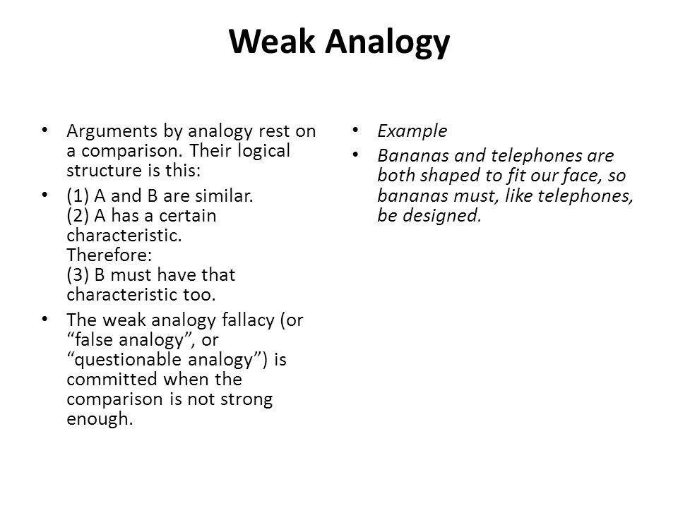 examples of analogy essay An analogy compares two unlike things to illustrate common elements of both an analogy essay is an extended analogy, which explains one thing in considerable depth.