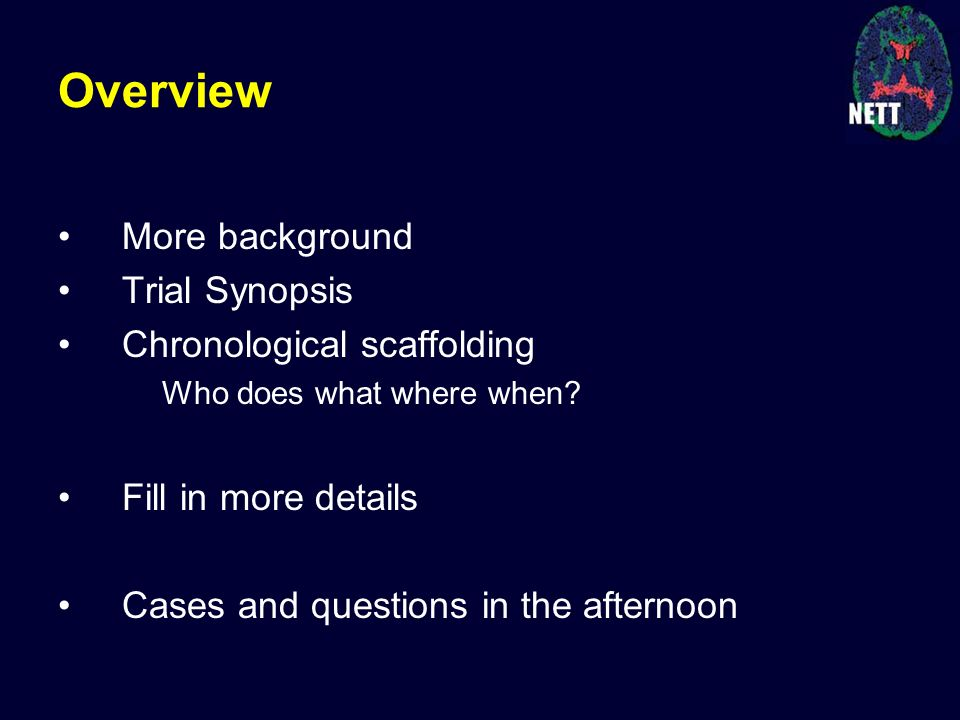 Investigator Kickoff Meeting January Protocol Review, Part 1