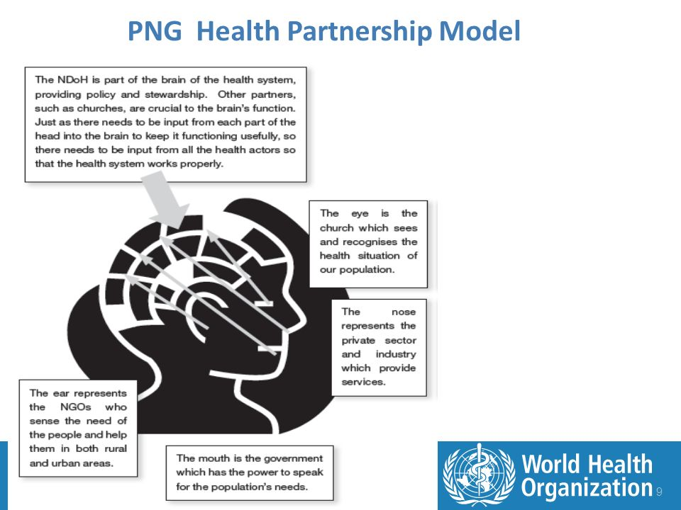 9 PNG Health Partnership Model