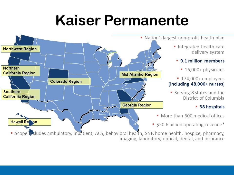 Kaiser Locations California Map.Ann Obrien Rn Msn Cphims National Senior Director Of Clinical