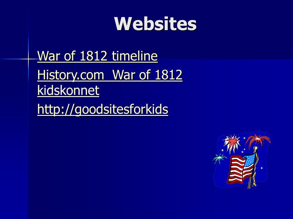 War Of 1812 Causes Of The War Of 1812 Eileen Schreppel 5 Th Grade
