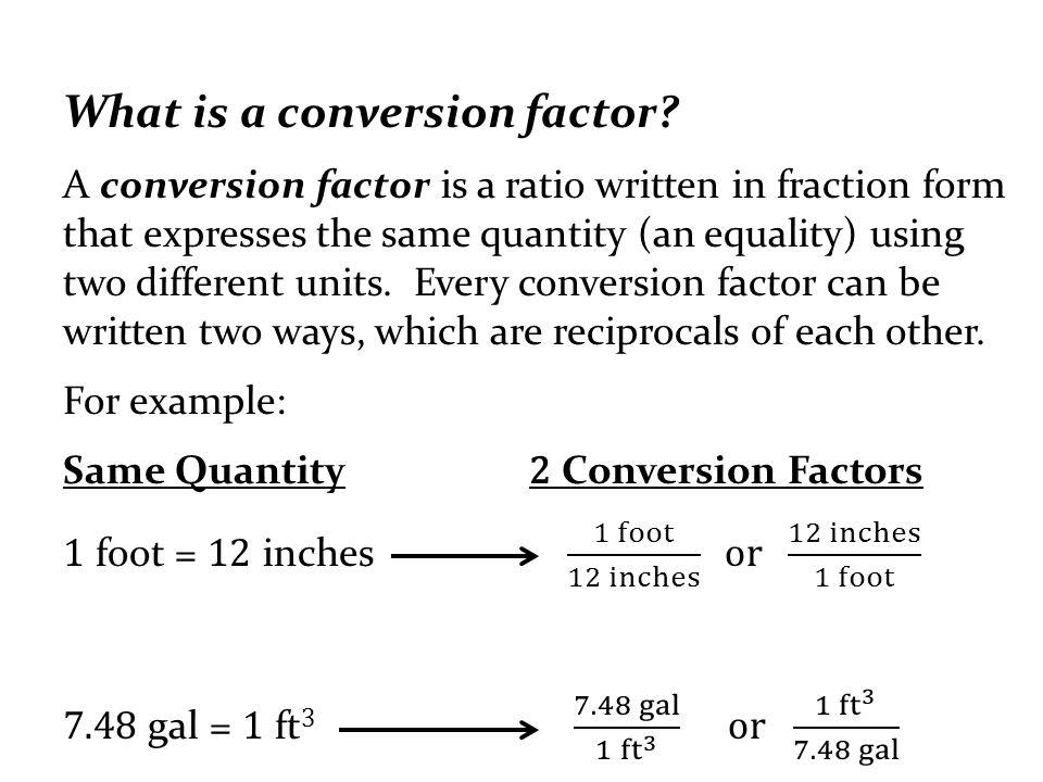UNIT CONVERSION FACTORS PDF DOWNLOAD