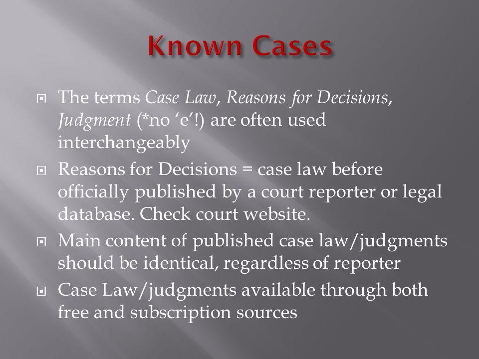 Criminology 330: Legal Research at SFU Library Yolanda