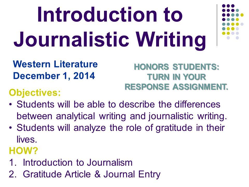 JOURNALISTIC WRITING PDF