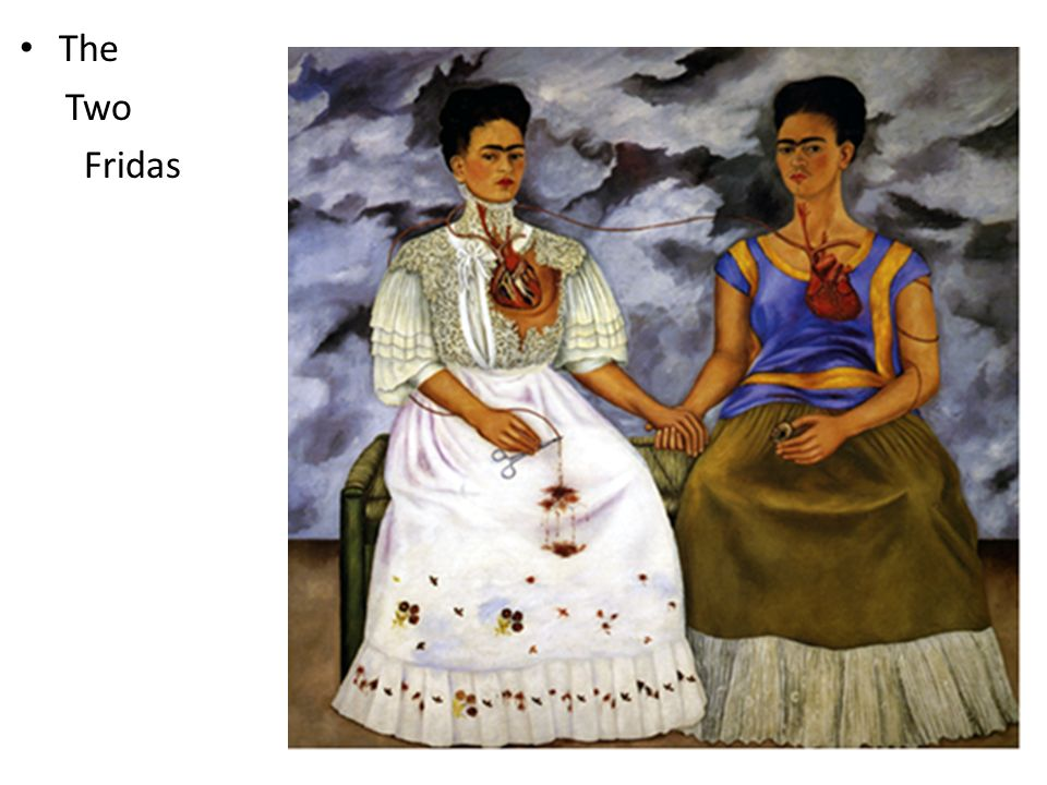 frida kahlo the two fridas analysis