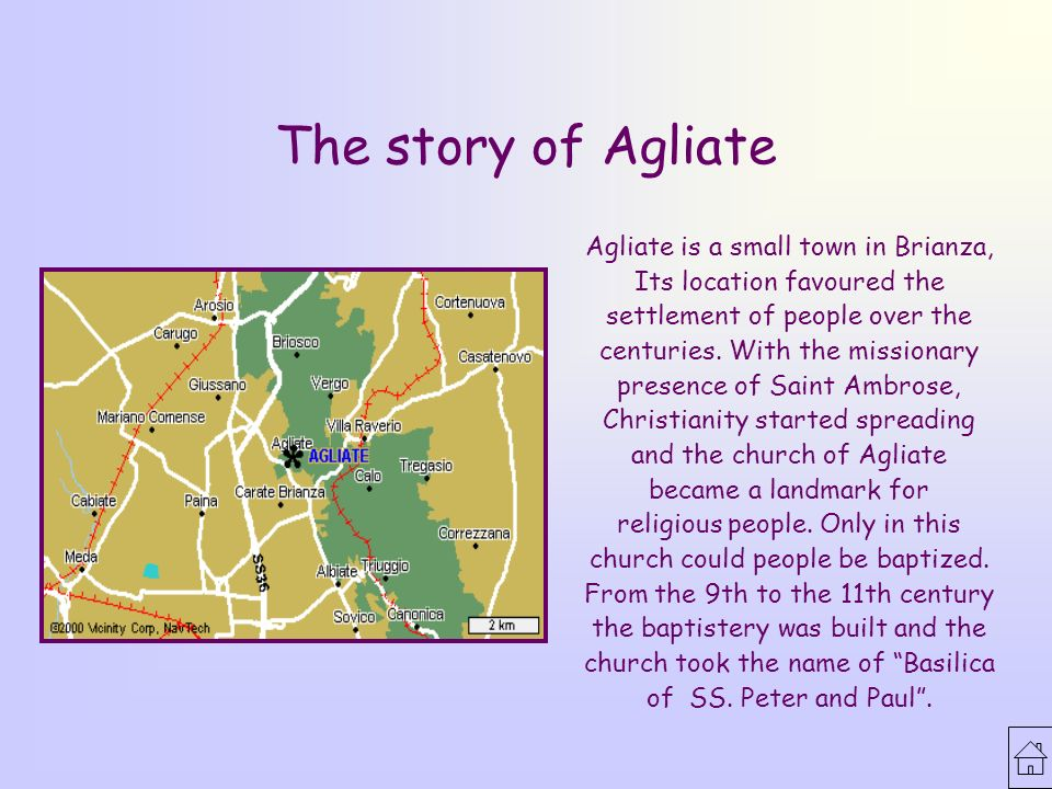 The Basilica of SS  Peter and Paul  The story of Agliate Agliate is