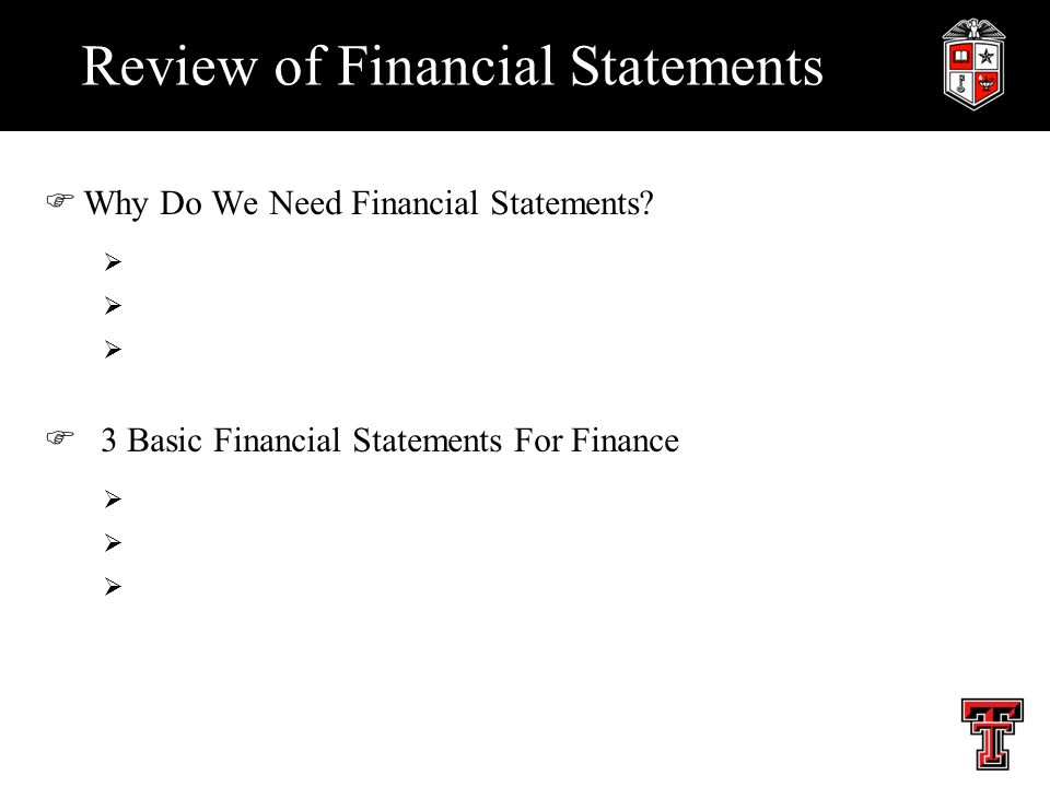 89700ee0063 Review of Financial Statements FWhy Do We Need Financial Statements ...