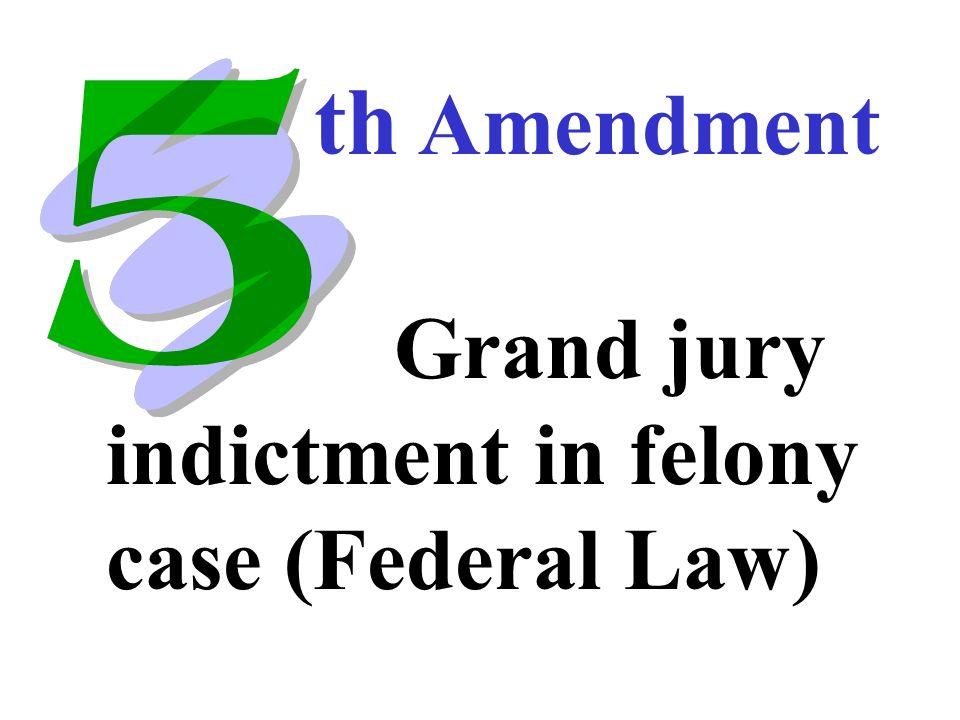29 No Double Jeopardy No Self Incrimination Th Amendment