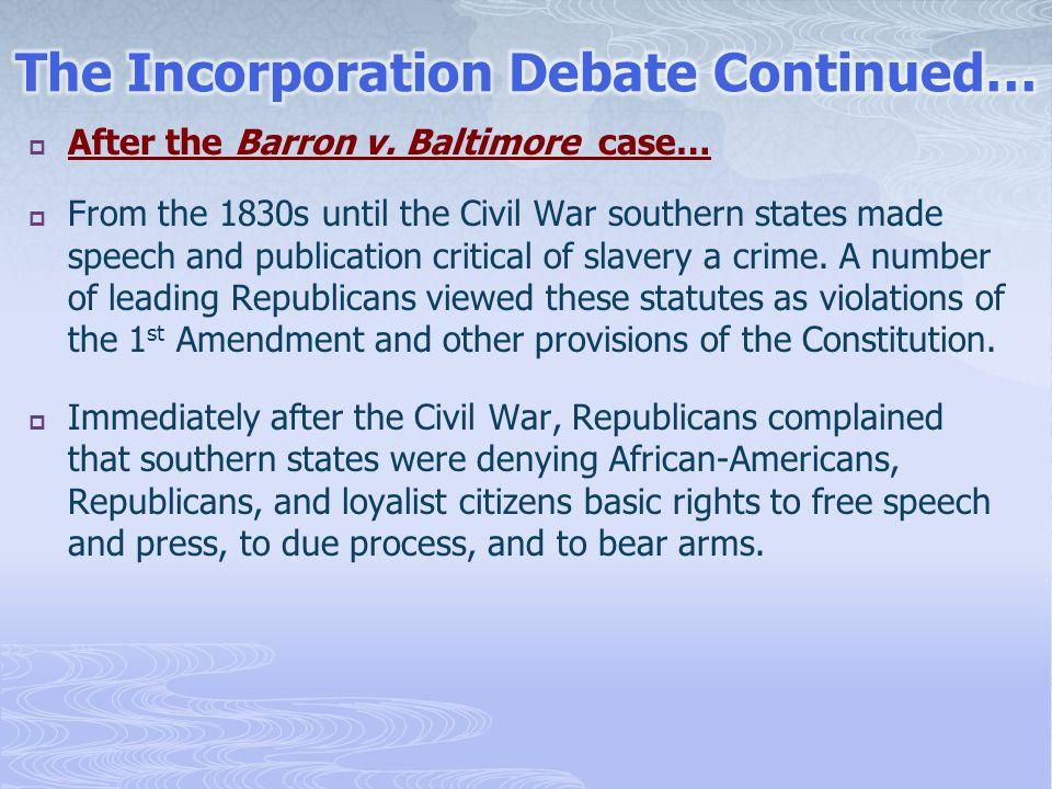 barron v baltimore case brief