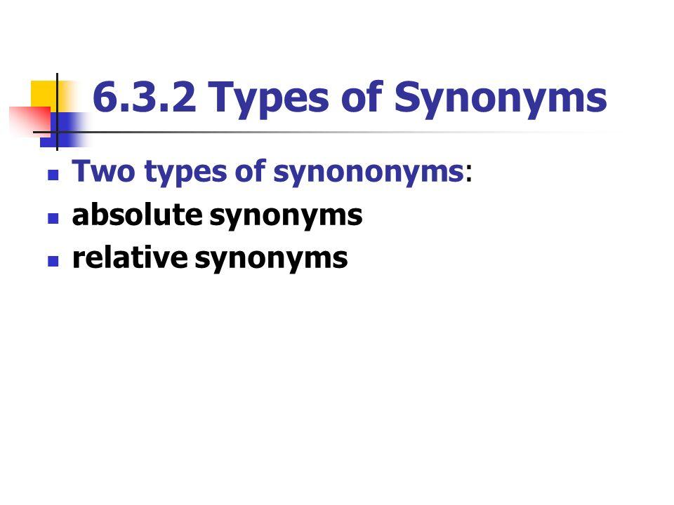 relative age synonym