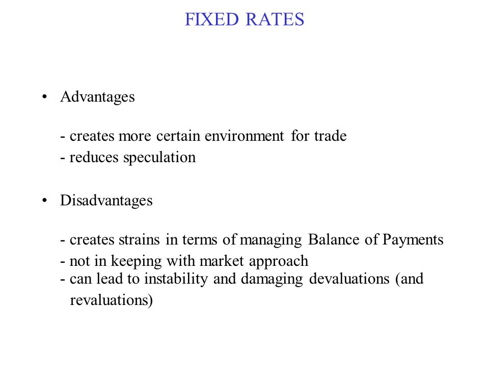 disadvantages of free trade