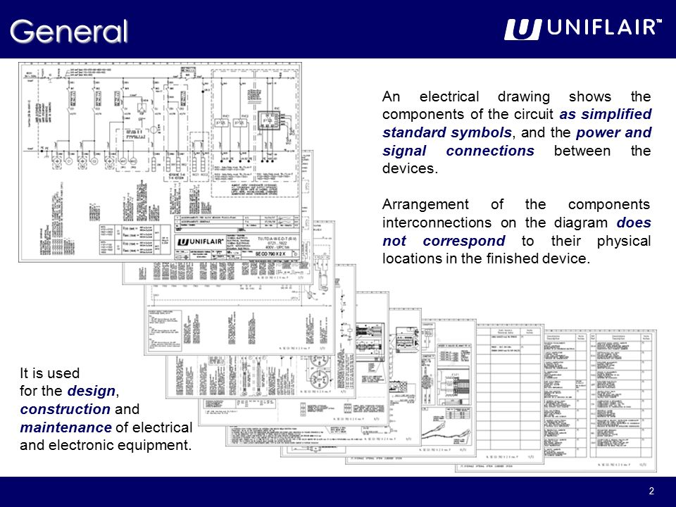 1 Reading Electrical & Refrigerant Drawings. 2 General An electrical ...