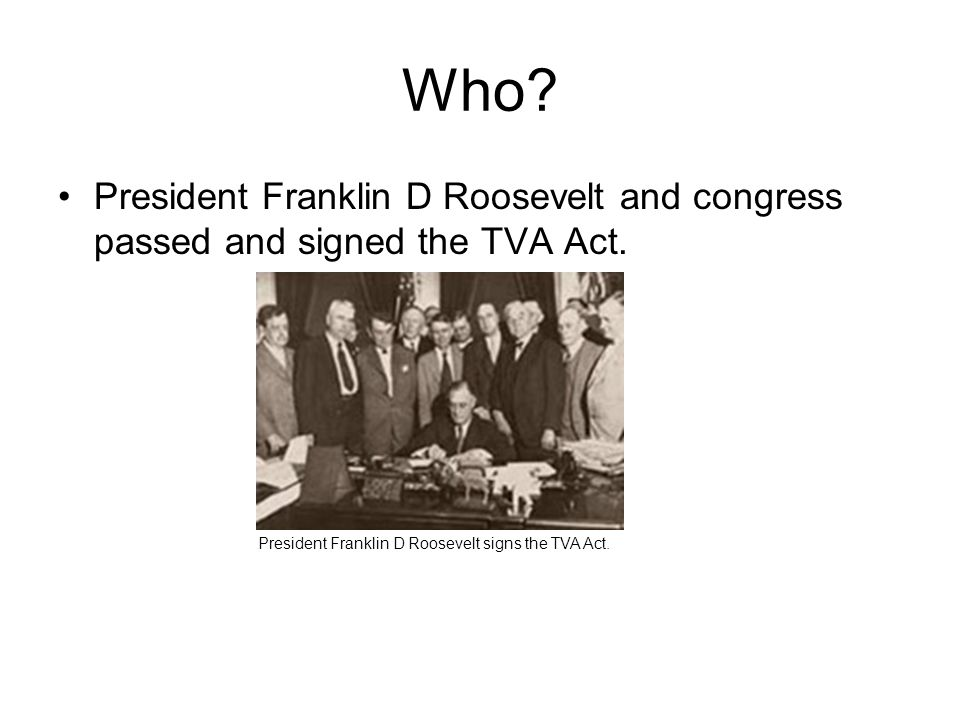 tennessee valley authority act