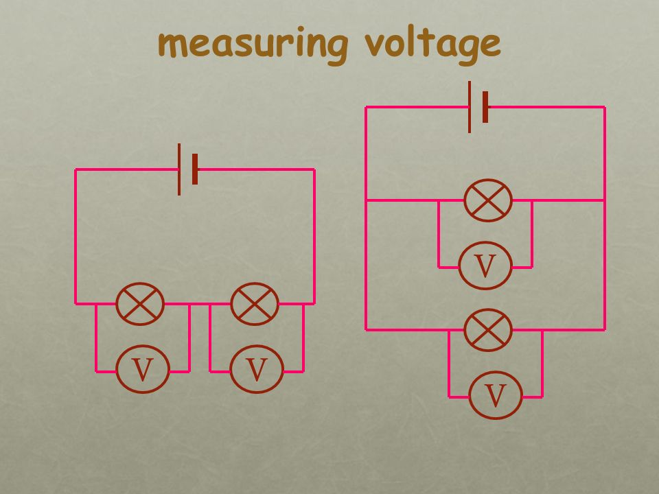 Different cells produce different voltages.