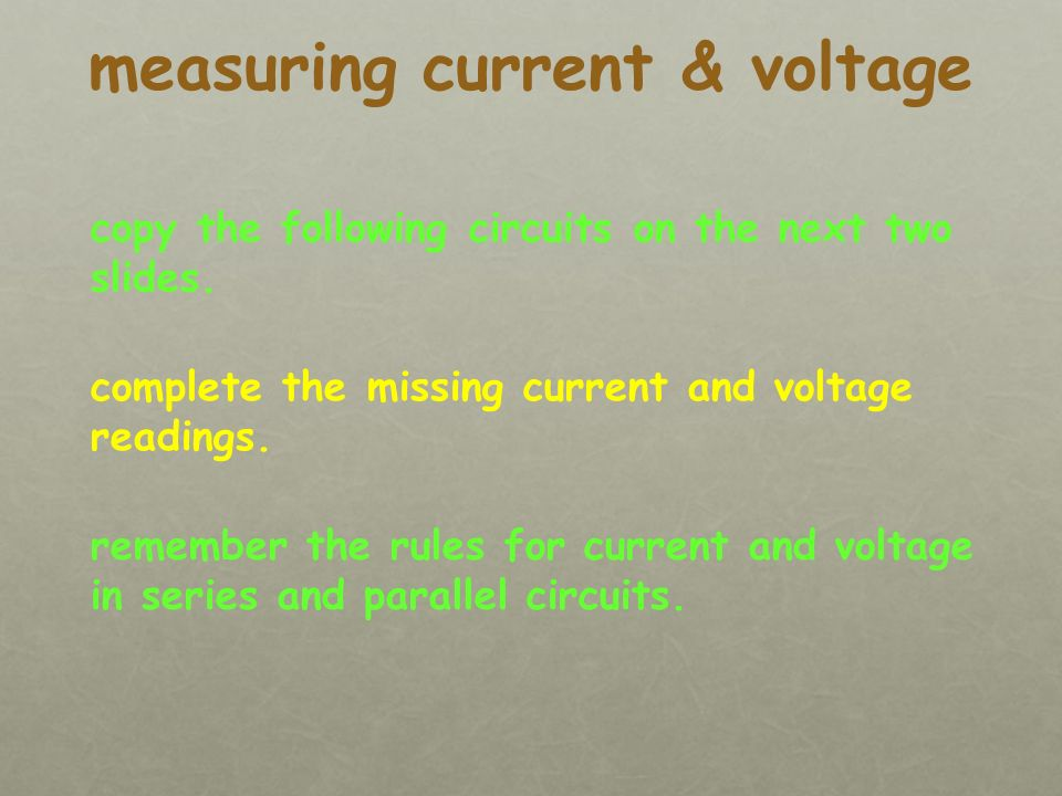 voltage is the same in all parts of the circuit. 3V parallel circuit 3V