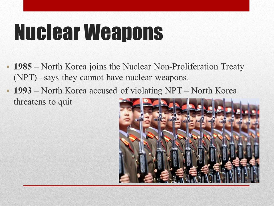 north korea nuclear weapons essay A tv screen shows file footage of north korea's missile launch during a news program at the seoul railway station in south korea on saturday north korea said it plans to freeze nuclear weapons.