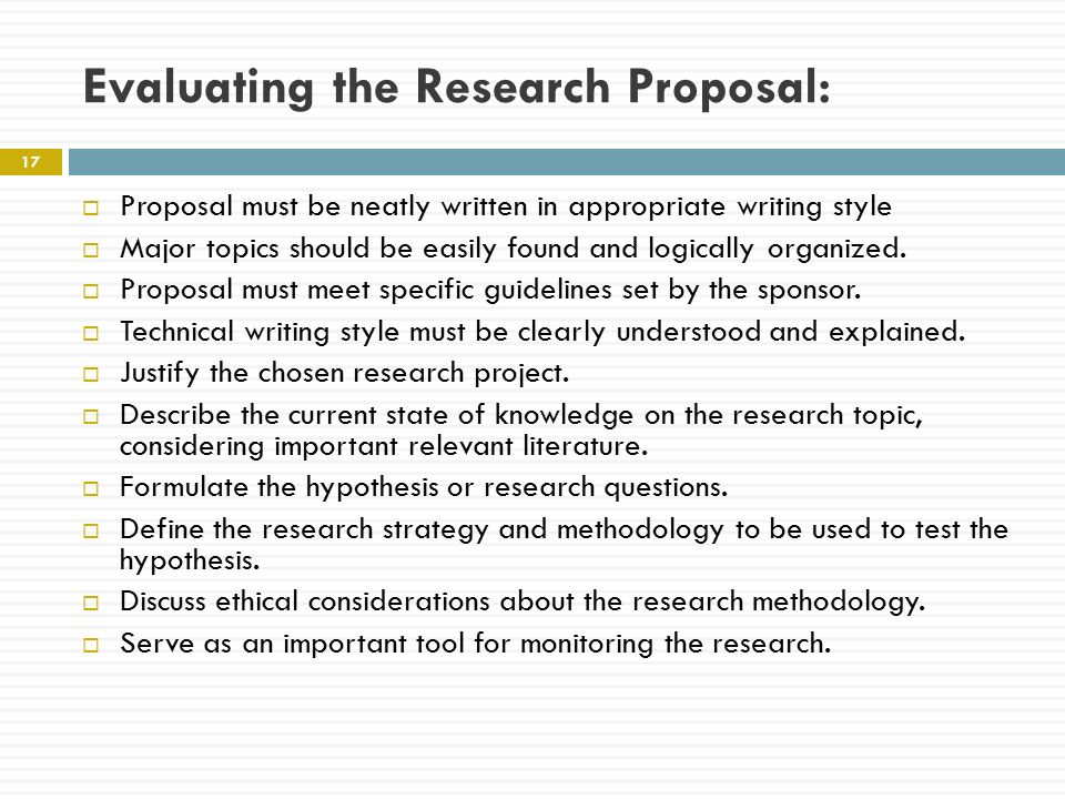 what is research proposal writing The research proposal that you write will detail for your supervisor not only what it is that you plan to research, but also how you intend to conduct that research this gives them the opportunity to guide you not only to a better topic, but also to better methods of research.