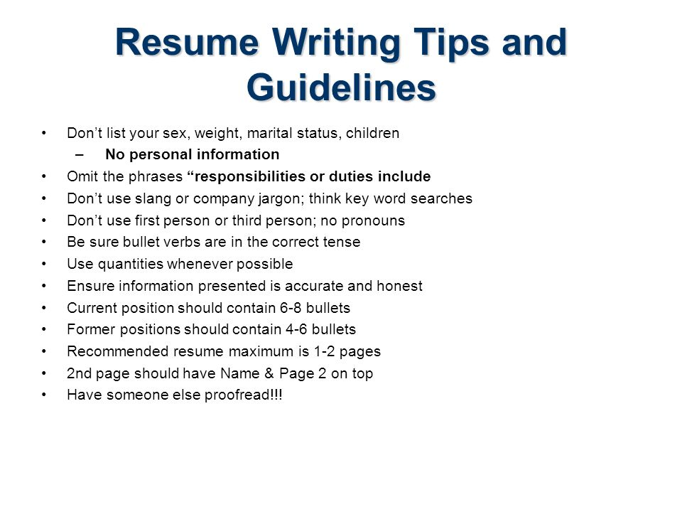 resume writing accuracy honesty In the internet age, resume writing is still playing catch up what had worked a decade ago is still being applied today the worst part is people expect it to continue working.