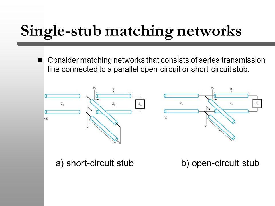 Single stub matching theory dating