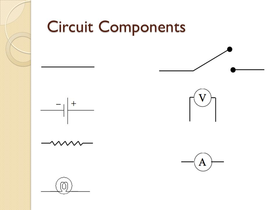 Basic Electric Circuits Chapter 18. Circuit Components. - ppt download