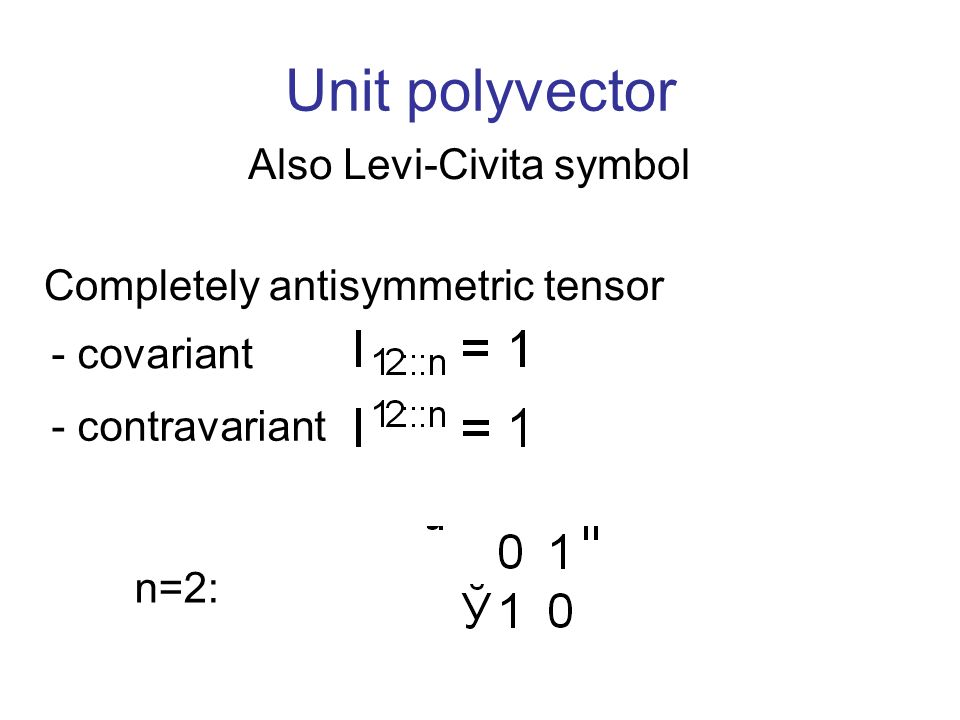 Derivation Of Invariants By Tensor Methods Tom Suk Ppt Download