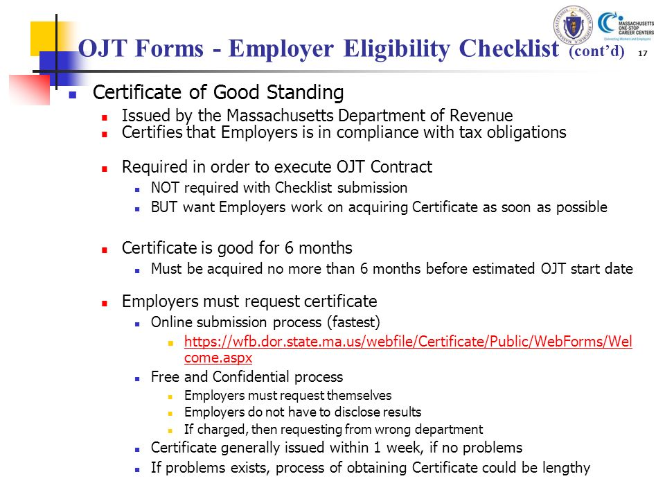 ojt document Page 3 of 3 documenting ojt the ojt documentation, or action plan, is part of the trainee's training record and is a method to verify the training was completed.