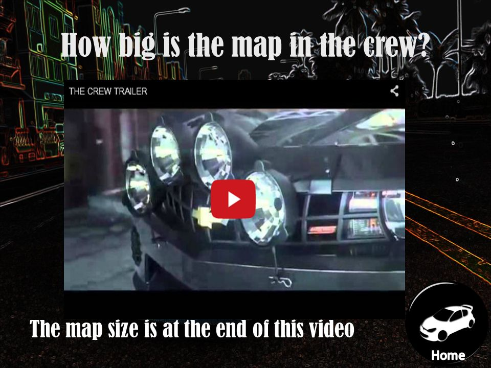 Xbox one The Crew By Jack Wonnacott Navigation Home What car are ...