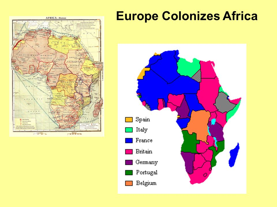 Europe Colonizes Africa