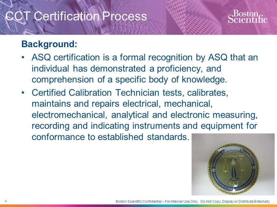 CCT Certification Process 2012 NCSLI Workshop and Symposium Shawn ...